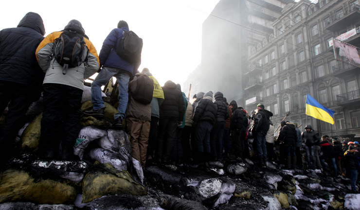 Protests continue in Ukraine